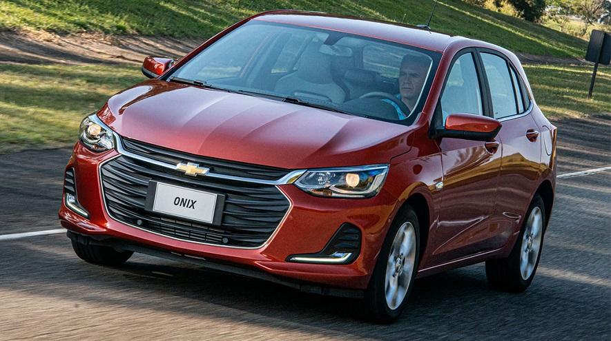Chevrolet Onix, el más vendido de marzo.