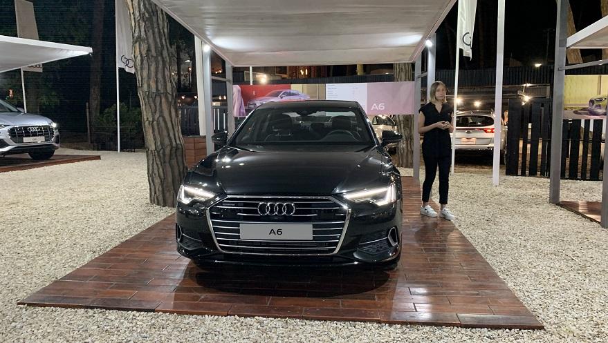 El nuevo Audi A6 que se luce en Cariló tiene tecnología mild-hybrid