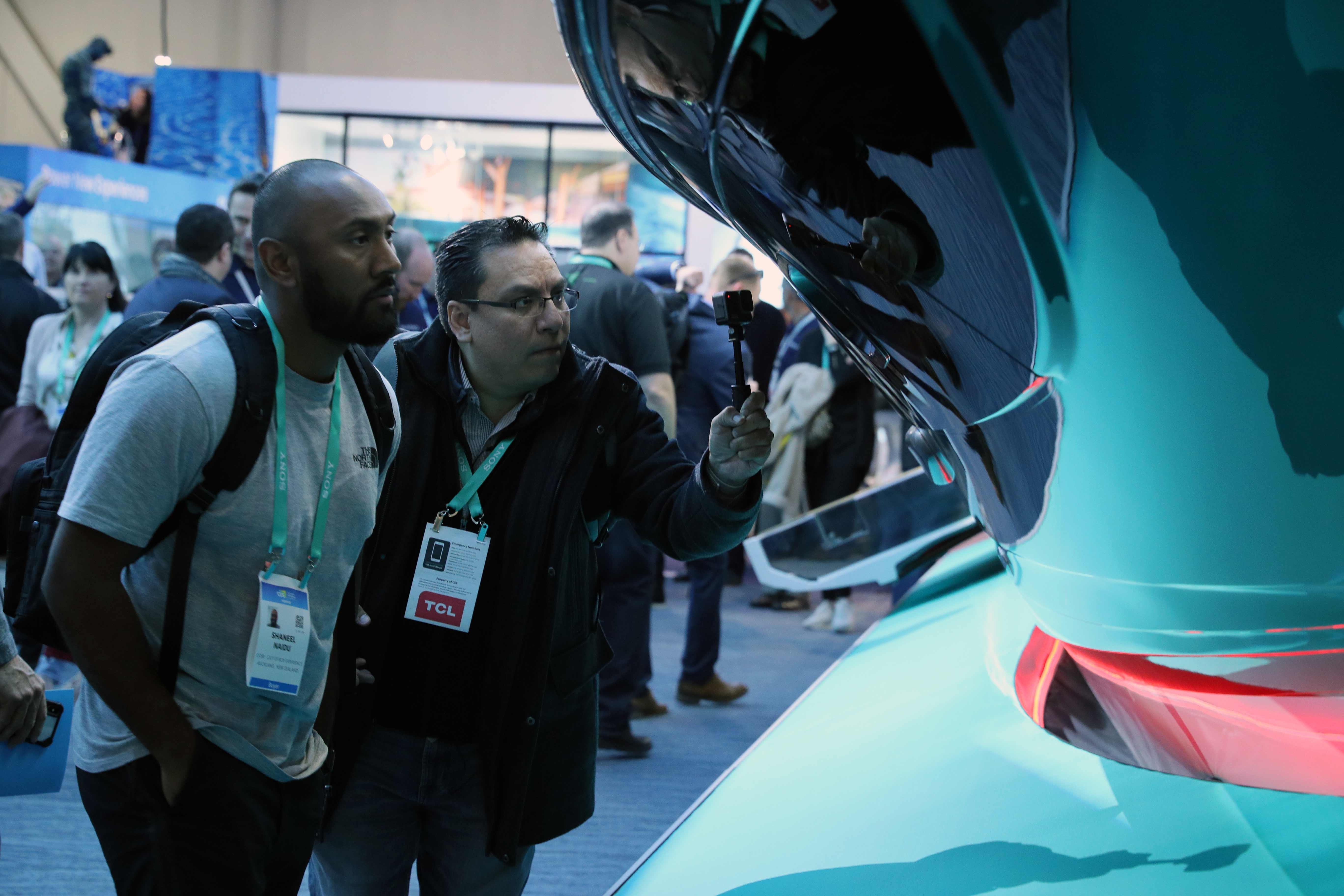 La inteligencia artificial fue una de las estrellas del CES 2020 en Las Vegas.