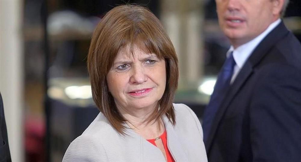 Patricia Bullrich criticó la campaña de afiches del Gobierno.