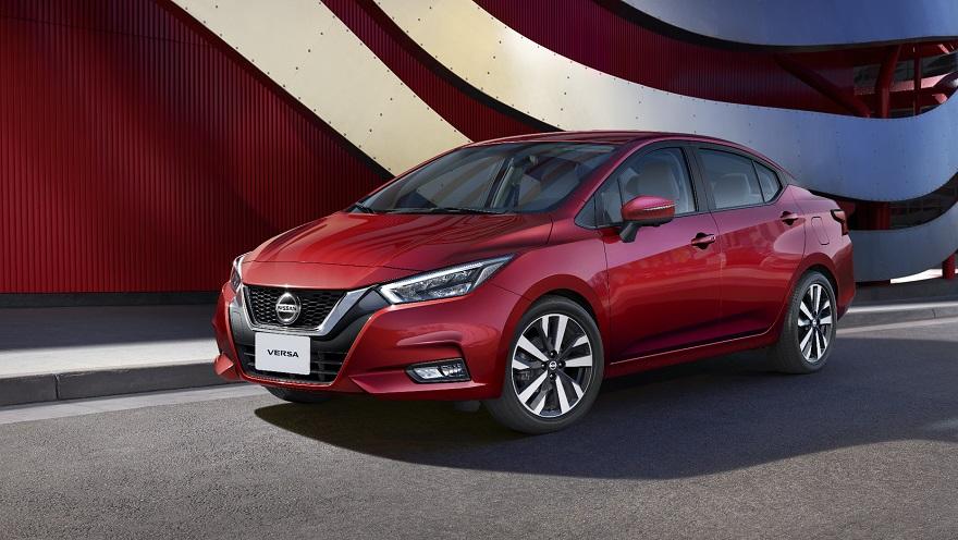 El nuevo Nissan Versa, totalmente renovado.