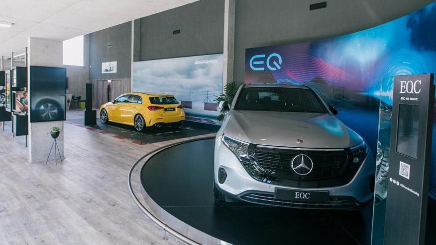 El Mercedes Benz EQC, el primer eléctrico con la