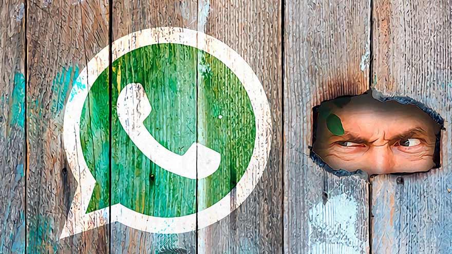 Los delincuentes informáticos apuntan sobre los datos del usuario en WhatsApp.