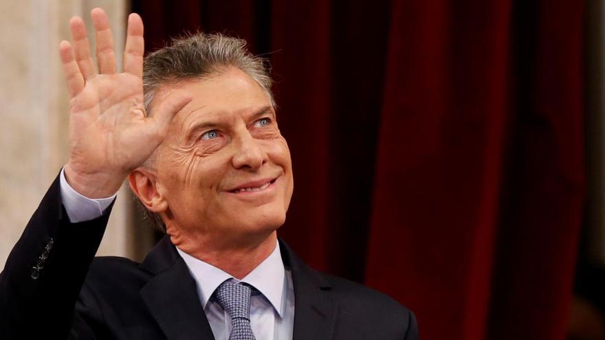 Mauricio Macri participó de una conferencia, que fue su regreso a la escena política