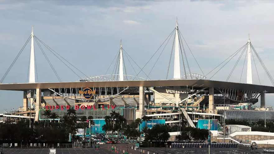 Hard Rock Stadium, Miami, donde se jugó la final del 2020.