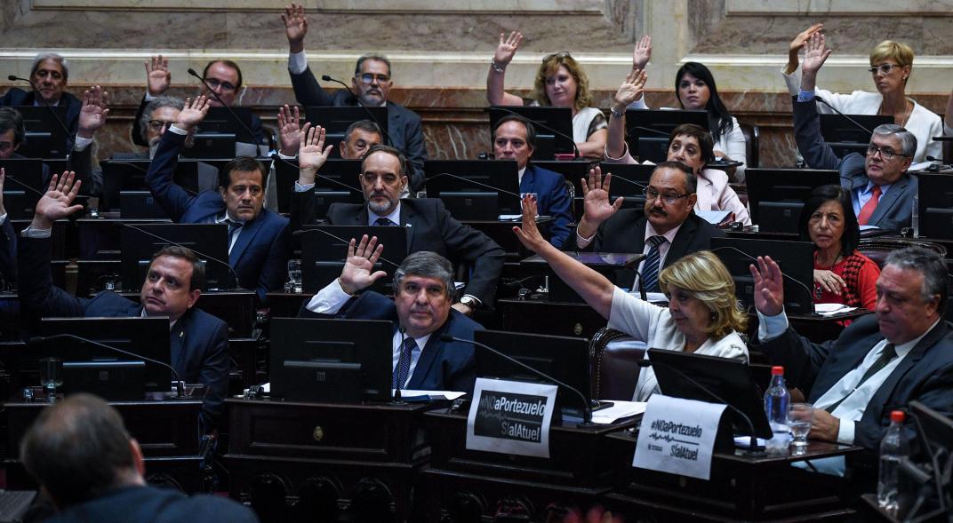 Cuánto cobran los legisladores en la Argentina
