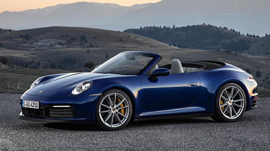 Porsche 911, el clásico de la marca, sin techo.