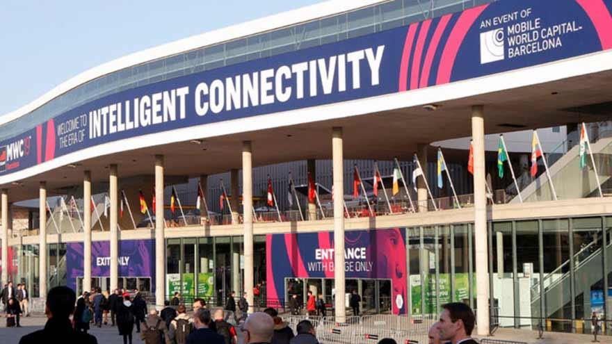 El congreso móvil de Barcelona fue cancelado en febrero por la pandemia.