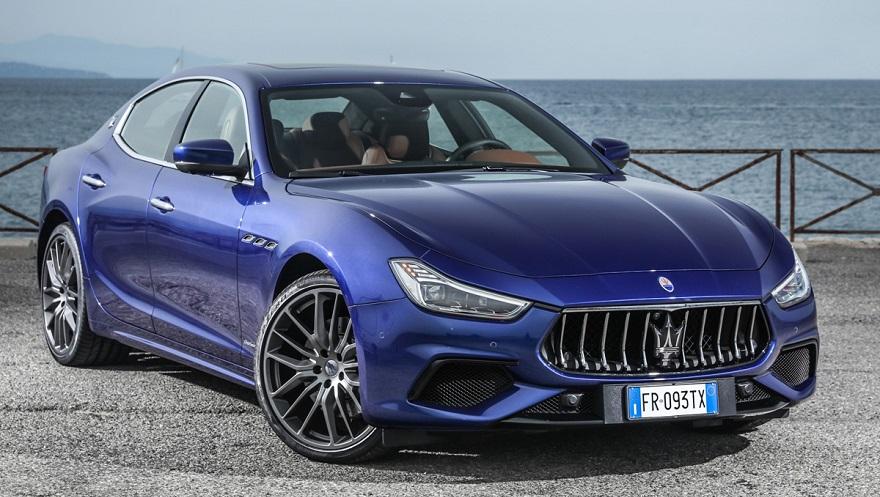 Maserati Ghibli, entre las marcas de autos más exclusivas.