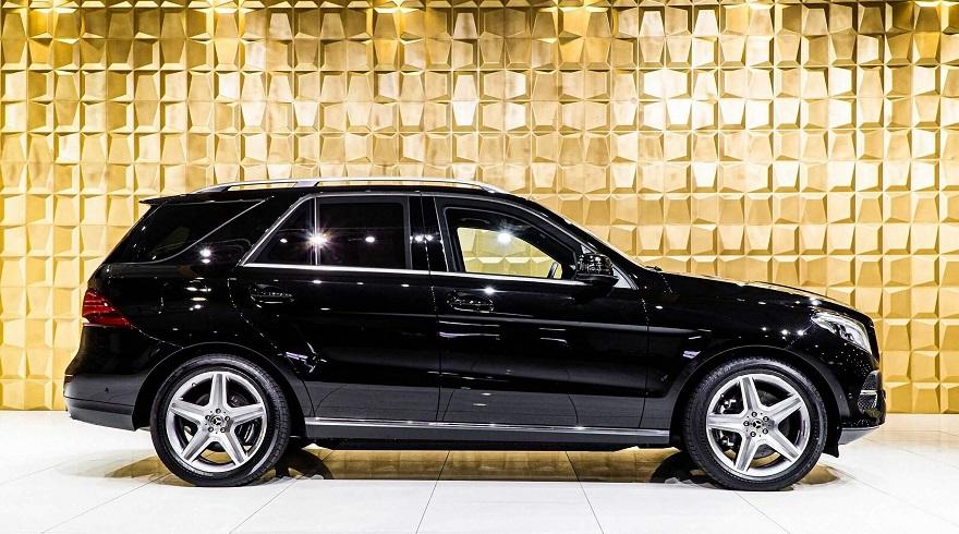 Mercedes Benz GLE, el SUV más protegido del mercado.