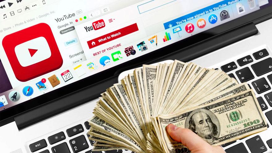 Hay personas que han ganado mucho dinero creando contenido para YouTube