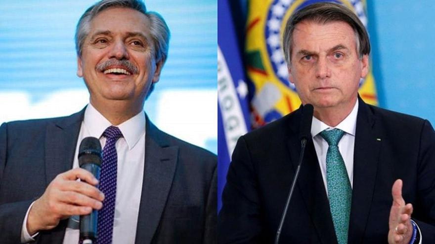 Jair Bolsonaro y Alberto Fernández mantendrán un encuentro por videollamada este lunes