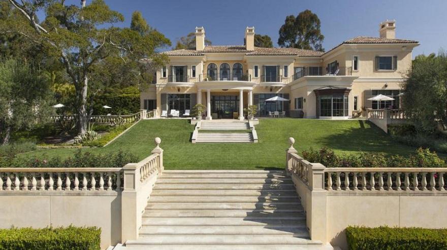 Oprah Winfrey, dueña de una de las mansiones más caras del mundo.