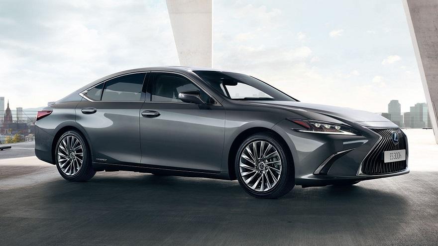 Lexus, otra de las marcas con modelos híbridos.