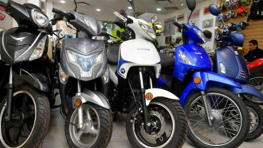 Motos de hasta $150.000 se podrán comprar con el crédito.