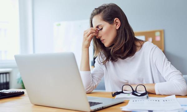 El estrés puede provocar cambios en el ciclo menstrual