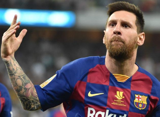 El argentino Leo Messi ocupa el primer lugar del ranking de los deportistas mejor pagos