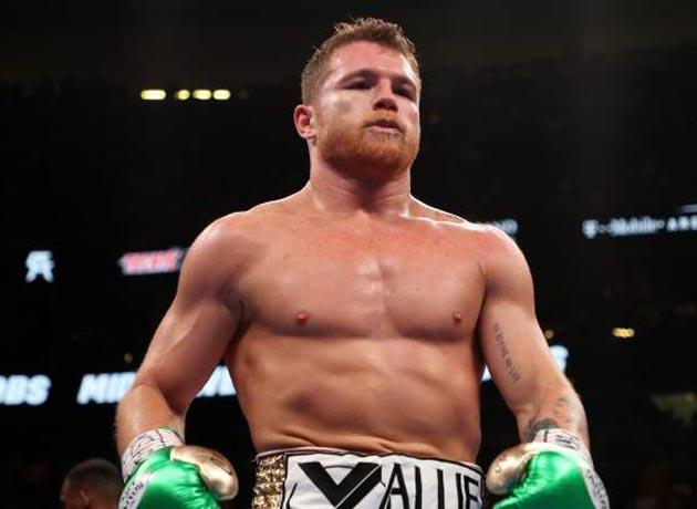 El boxeador mexicano Saúl
