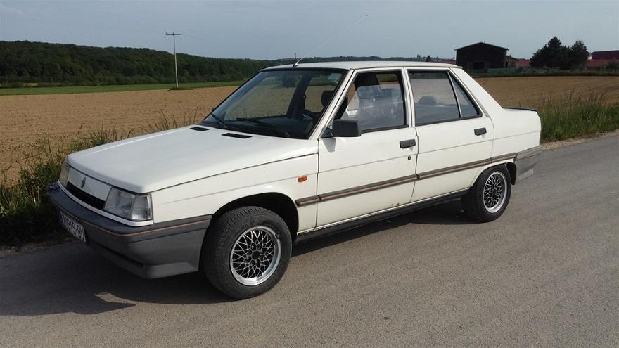 Renault 9, uno de los autos más robados.