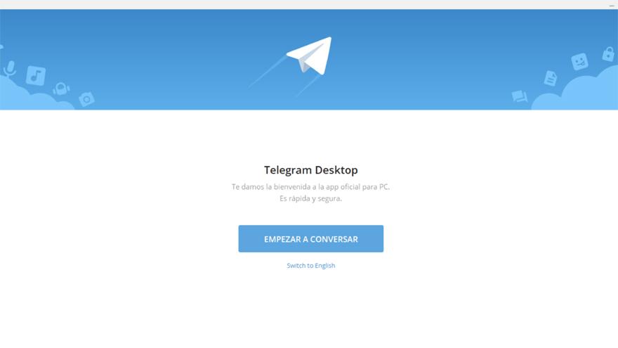 A nivel interfaz Telegram Desktop no presenta muchas diferencias respecto a la versión para teléfono de Telegram.
