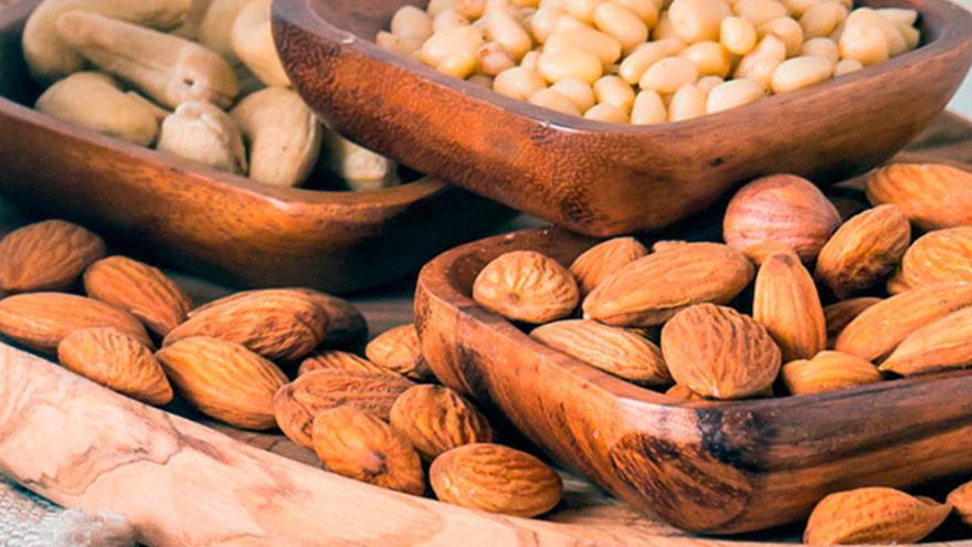 Los frutos secos son una fuente de grasa saludable