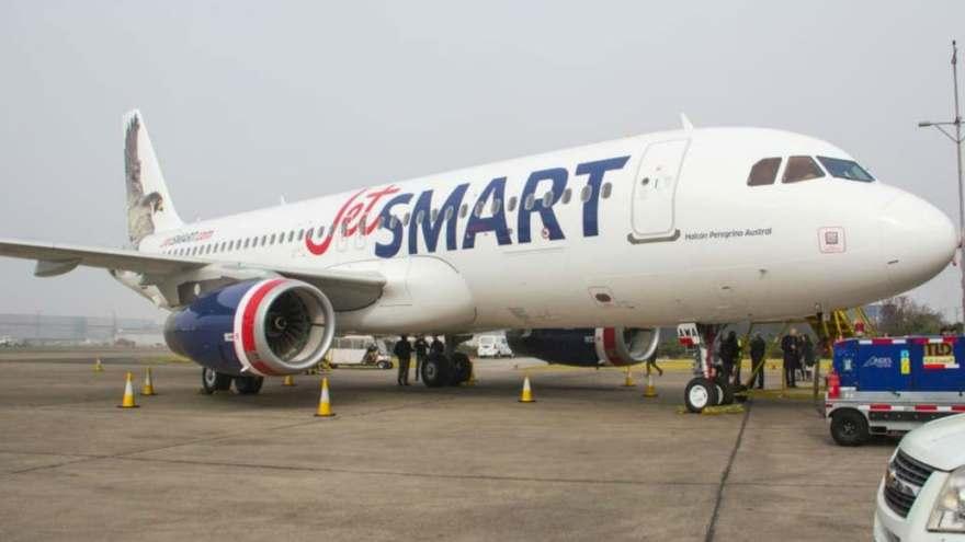 JetSmart vuela desde y hacia Ezeiza desde el 19 del mes pasado.
