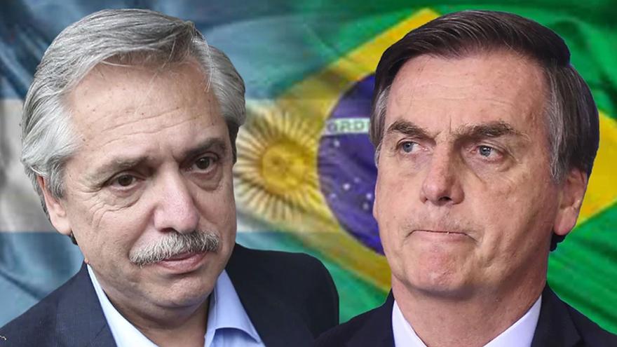 Bolsonaro fue crítico del gobierno de Fernández incluso desde antes de su asunción