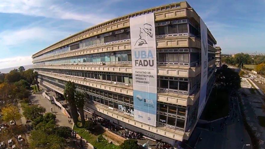 En la FADu se enseñan las carreras de Diseño, Arquitectura, Textil, Paisajismo e Imagen y Sonido de la UBA