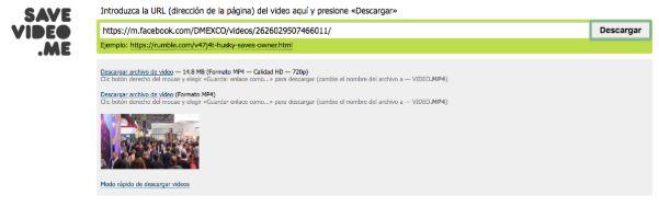 Con una serie de pasos simples es posible descargar videos en Facebook