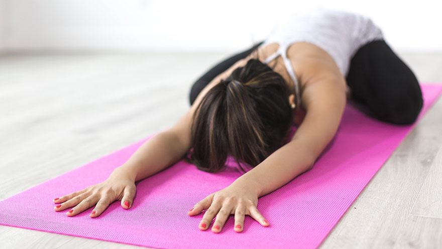 El yoga puede ayudar a dormir