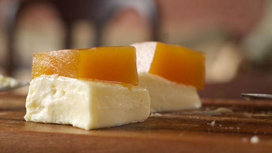 El dulce de batata acompañado con queso, un clásico postre argentino
