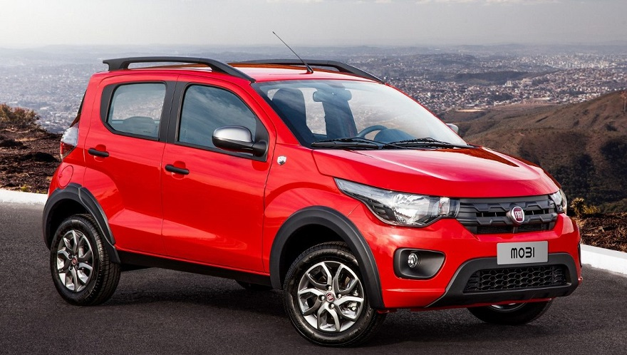 Fiat Mobi, el más barato del mercado.