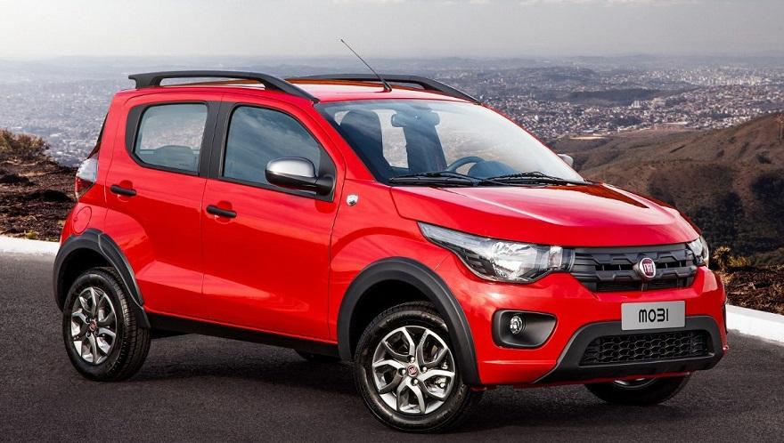 Fiat Mobi, el más barato del mes.