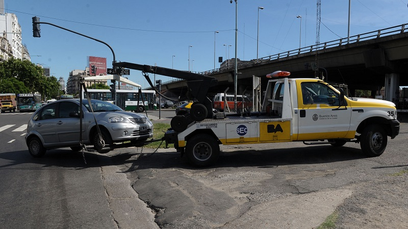 Las infracciones en CABA crecen por estacionar mal.