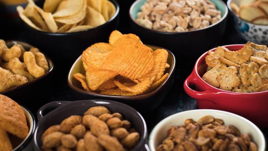 Los alimentos procesados se desaconsejan en todas las dietas