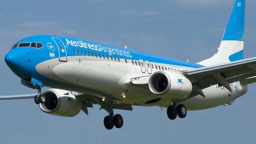 Además de los servicios de repatriación, Aerolíneas Argentinas recurrió a su simulador para mantener a sus pilotos con los permisos activos.