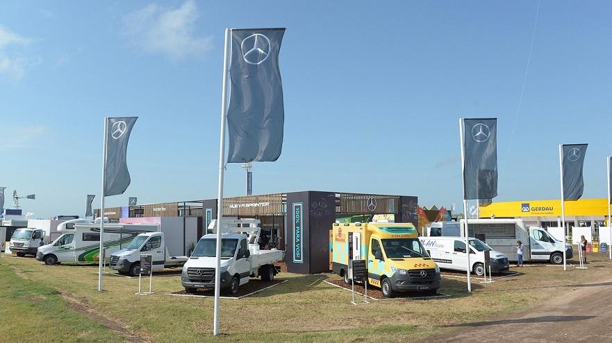 Mercedes Benz vans, en todas sus formas.