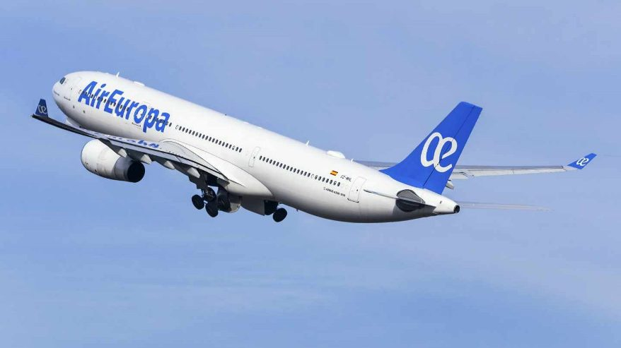 Air Europa, a punto de ser adquirida por Iberia.