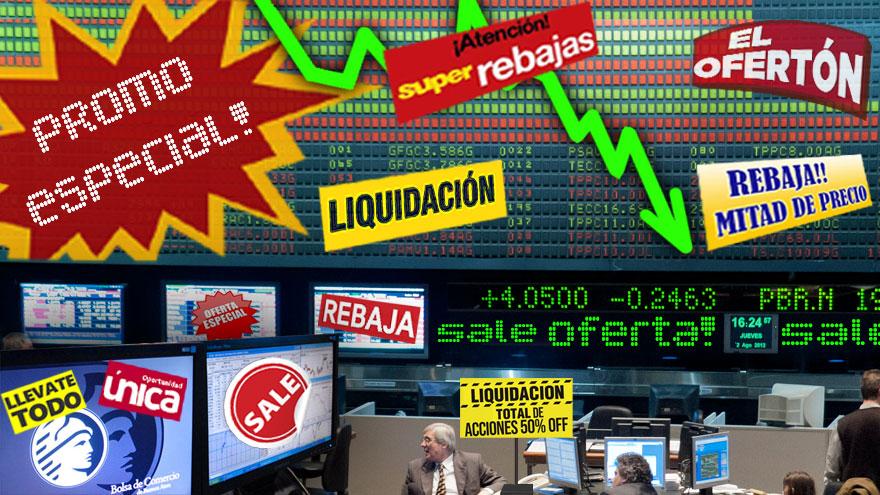 Los papeles argentinos recuperaron más del 11 por ciento en dólares durante la semana pasada