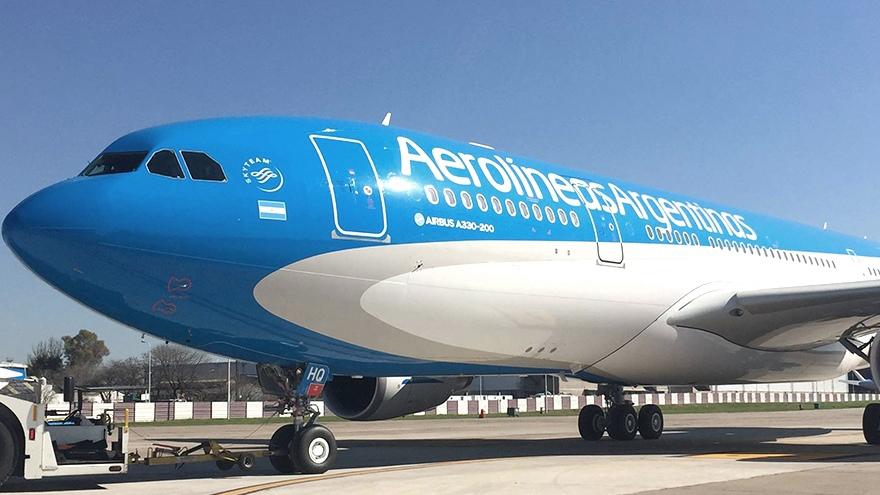 os vuelos de septiembre se concentrarán en el aeropuerto de Ezeiza dada la situación de obras