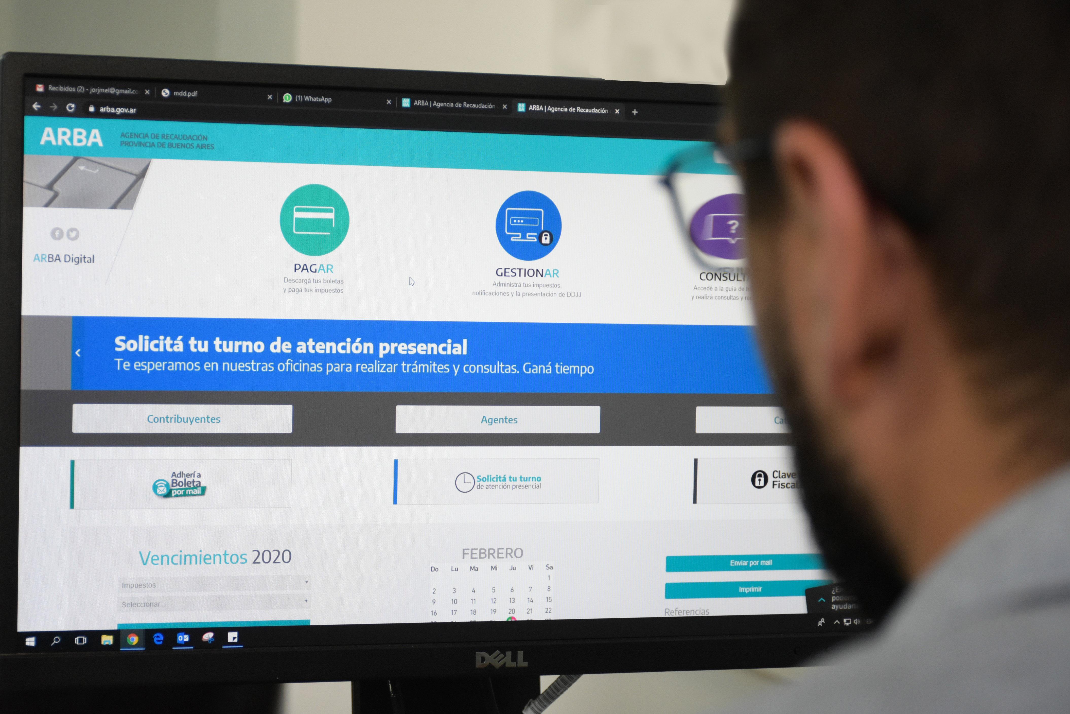 ARBA permite realizar una gran cantidad de trámites online.