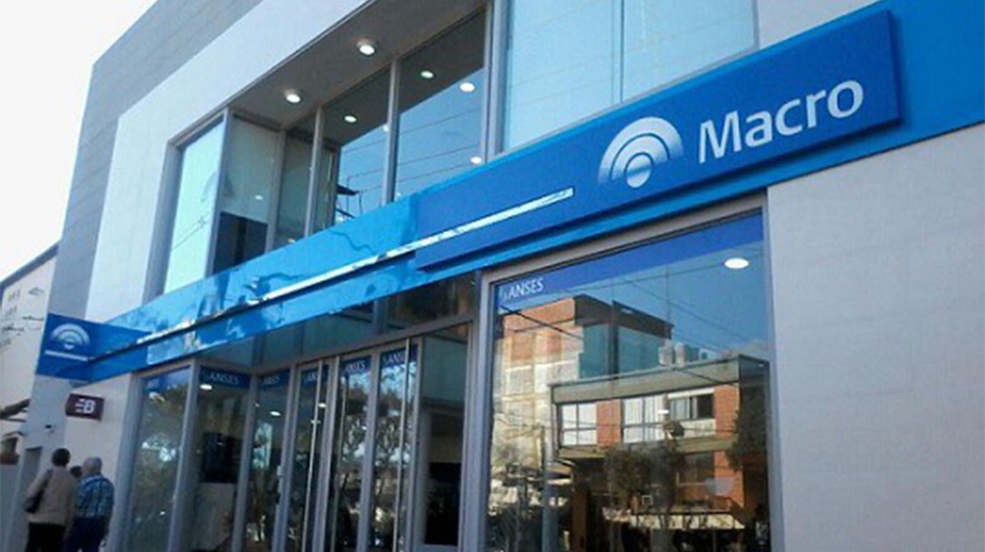 Las acciones de Banco Macro se recuperan casi 4 por ciento este viernes en Nueva York