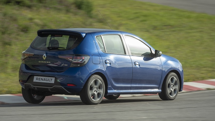 Renault Sandero GT Line, deportivo por fuera.