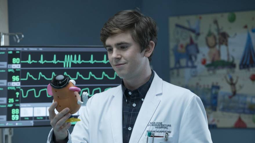 El protagonista de The Good Doctor tiene síndrome de Savant