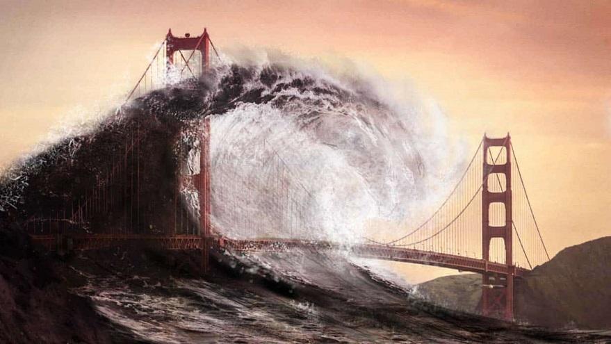Un gran tsunami fue anticipado por Baga Vanda.