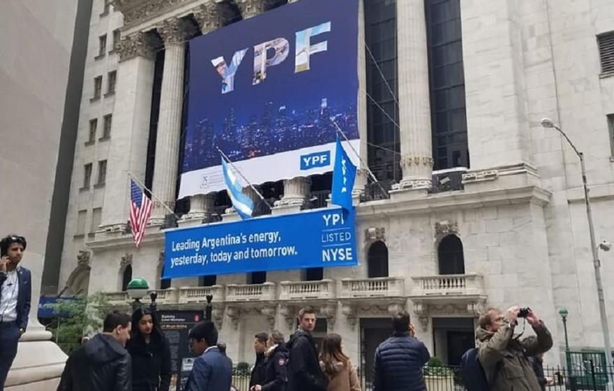 El adr de YPF perdió 7% este lunes en la Bolsa de Nueva York