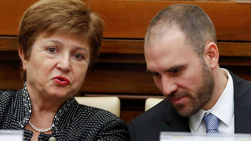Kristalina Georgieva y Martín Guzmán: la negociación pondrá a prueba la buena sintonía, por la vocación del FMI por el ajuste fiscal