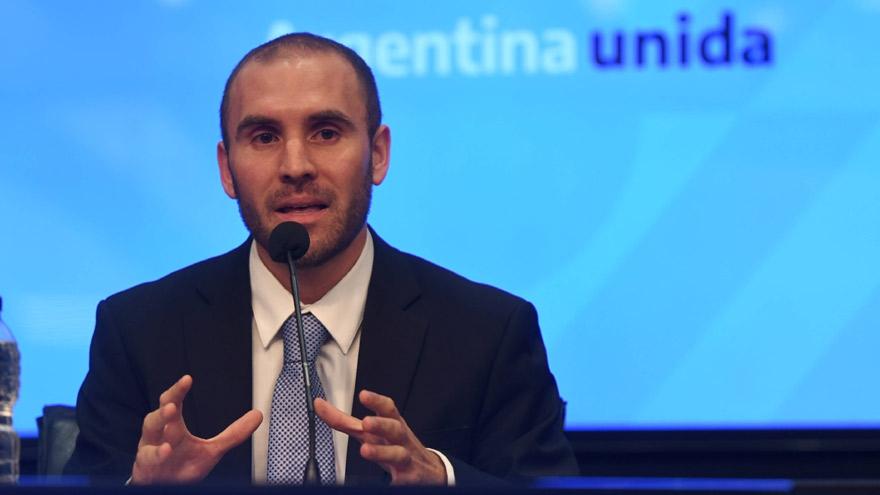 Martín Guzmán, el ministro de Economía de la Argentina