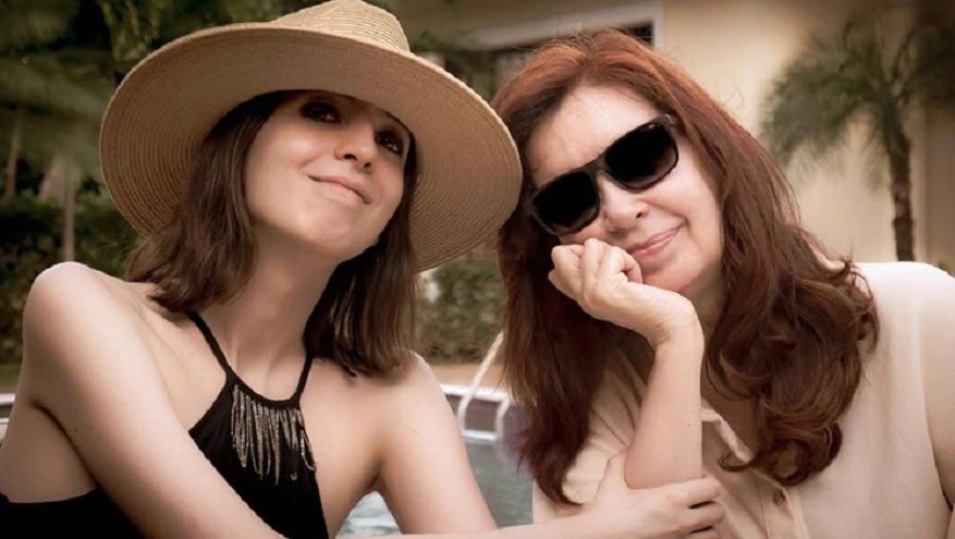 Florencia Kirchner salió a defender a su madre tras los dichos de Etchecopar