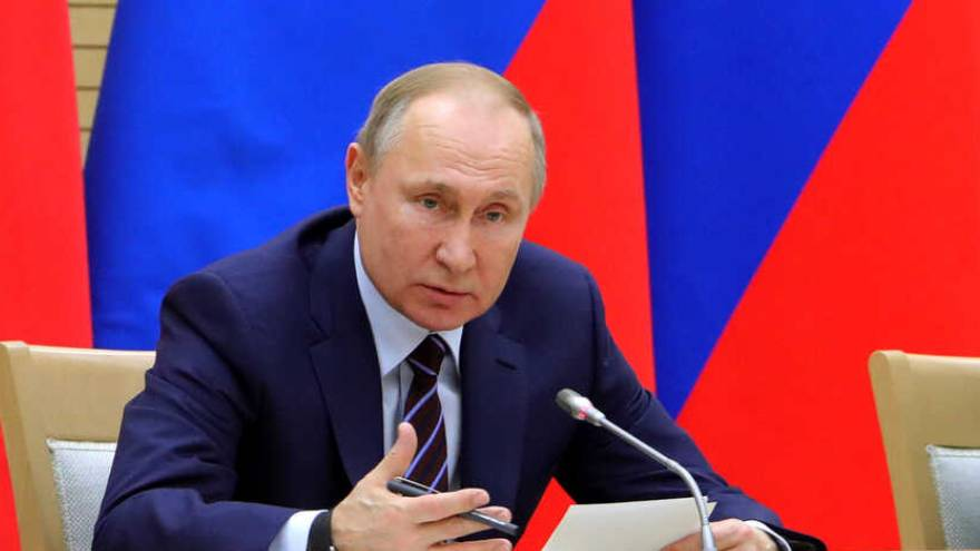 Vladimir Putin, el primer mandatario ruso